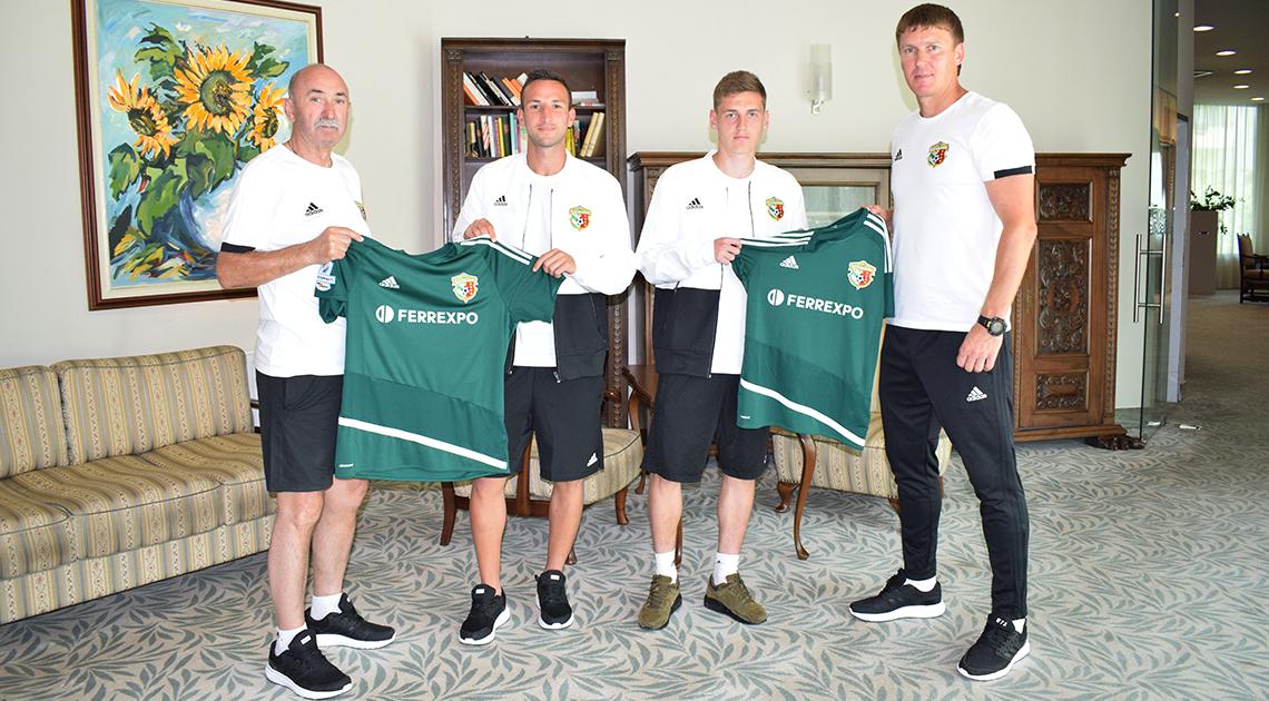 Габелок і Мисик стали гравцями «Ворскли»