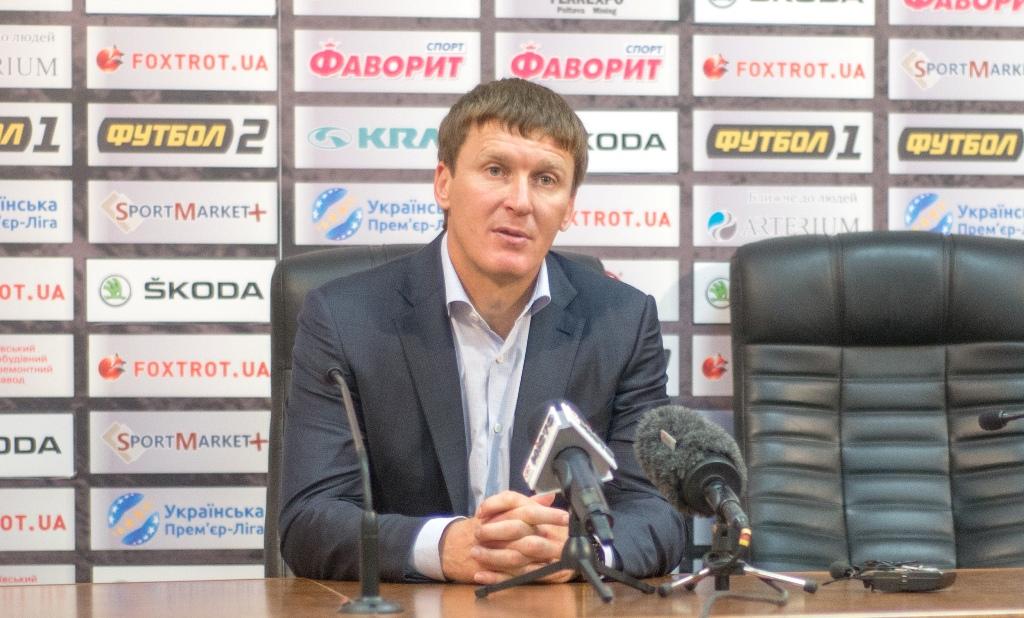 Василий Сачко: «Мы с «Шахтером» работаем на разных скоростях»