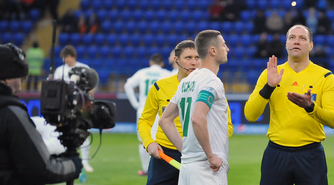 «Ворсклу» й «Зорю» розсудить Дмитро Кутаков