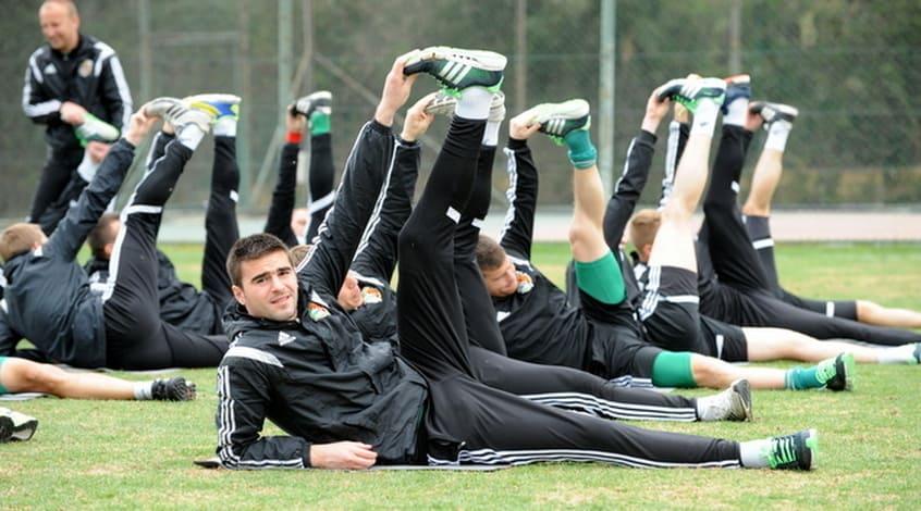 Спортивный массаж для футболистов