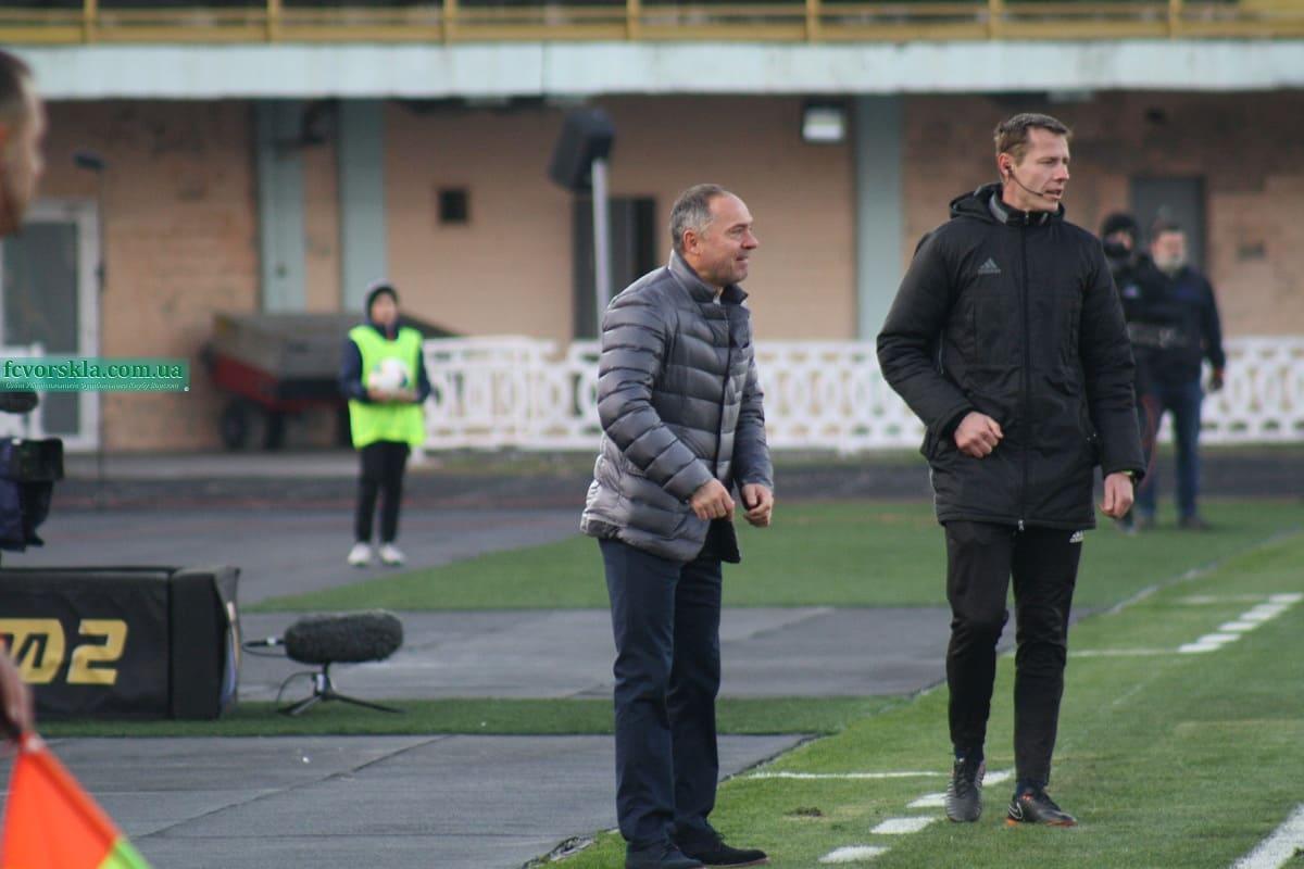 «Дніпро-1» і «Ворскла» зіграють під наглядом Юрія Іванова