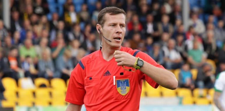 На матчі «Ворскла» – «Дніпро-1» працюватиме Юрій Іванов